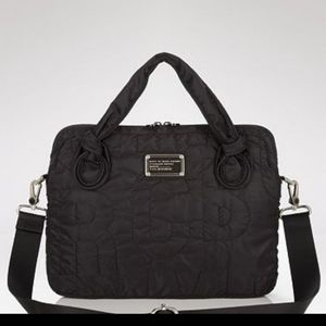 Marc by Marc Jacobs Quilted Nylon Laptop Bag